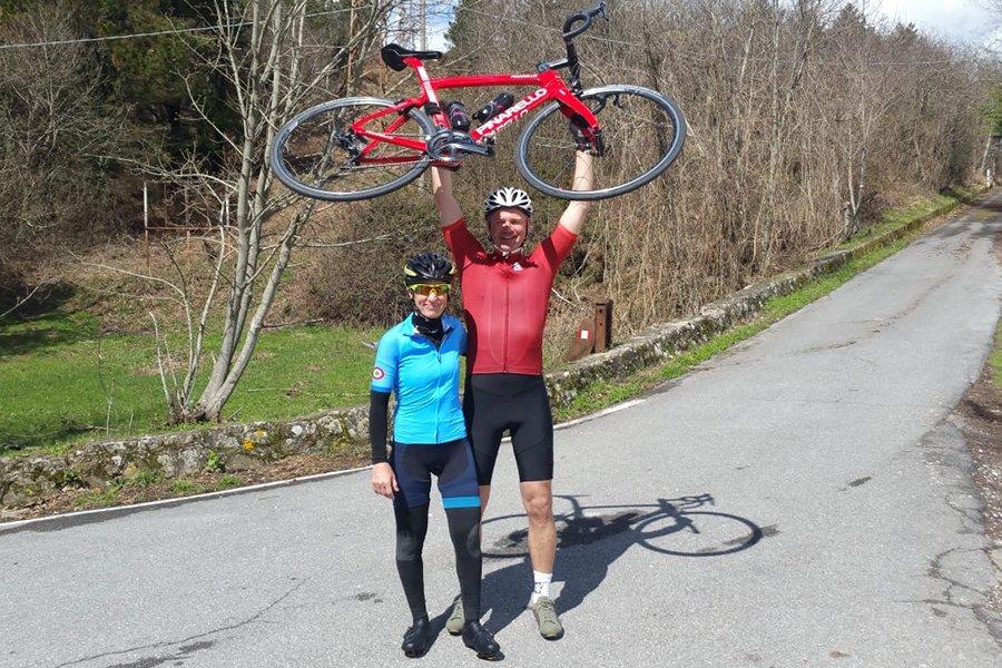 cycling tour on monte serra - ChronòPlus