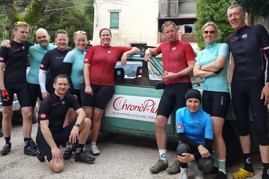 cycling holidays and team building - ChronòPlus